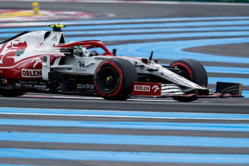 GP Francia 2021: il sabato di Alfa Romeo Racing