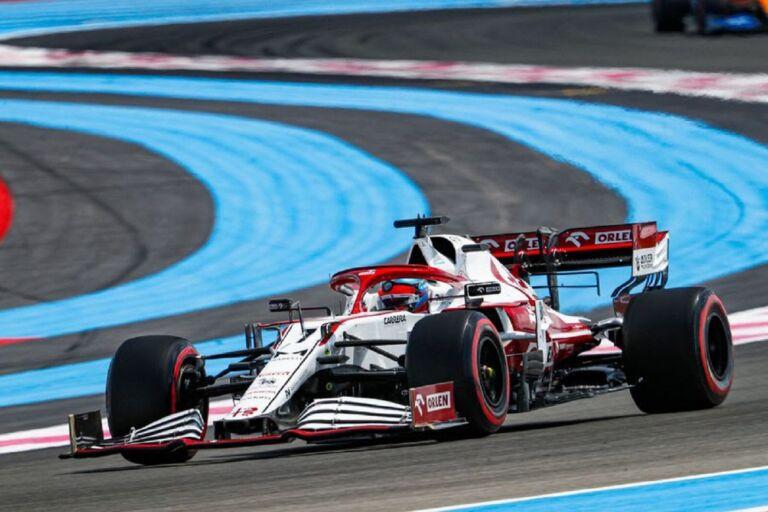 GP Francia: il venerdì di Alfa Romeo Racing