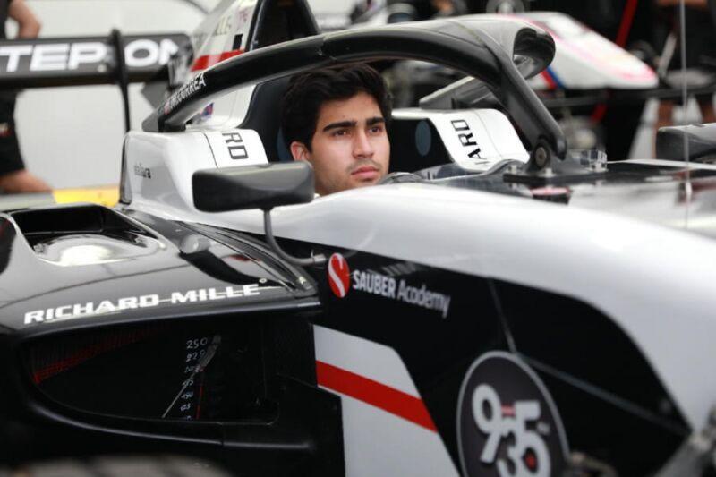 Juan Manuel Correa si unisce alla Sauber Academy, il programma giovani di Alfa Romeo Racing