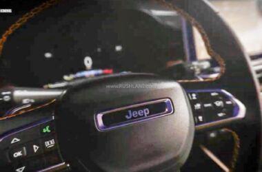 Jeep Compass 7 posti: il teaser che mostra gli interni