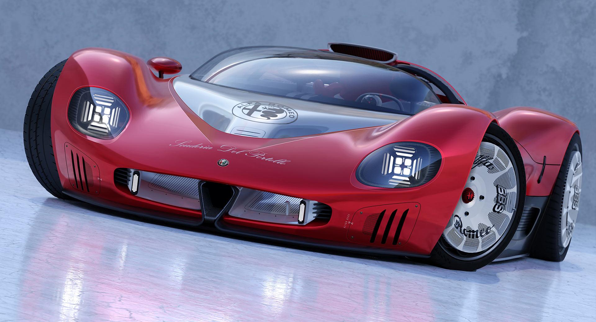 Alfa Romeo Periscopica: come potrebbe essere al giorno d'oggi?