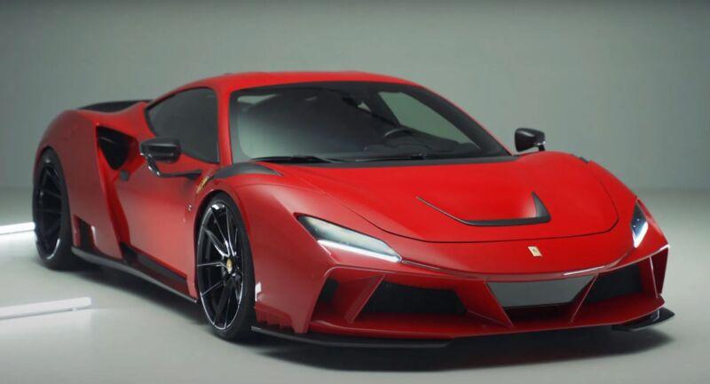 Ferrari F8 N-Largo Novitec