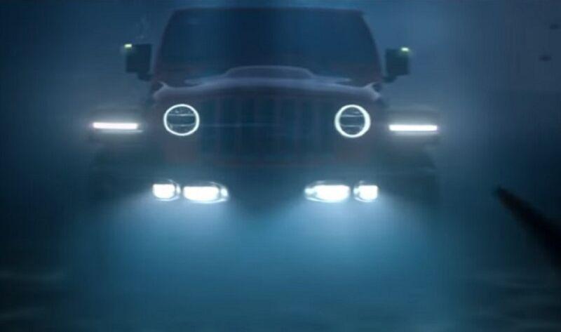 Jeep Wrangler elettrica: un nuovo video la mostra andare sott'acqua