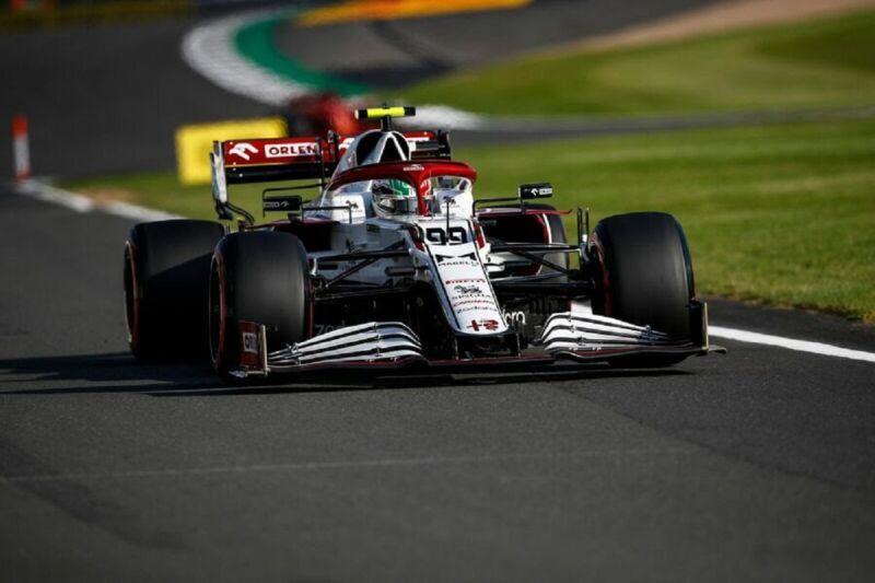 GP Gran Bretagna 2021: il venerdì dell'Alfa Romeo Racing