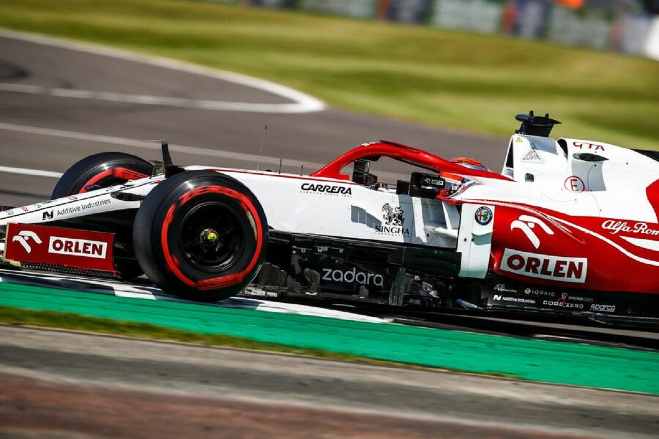 GP Gran Bretagna 2021: il sabato dell'Alfa Romeo Racing