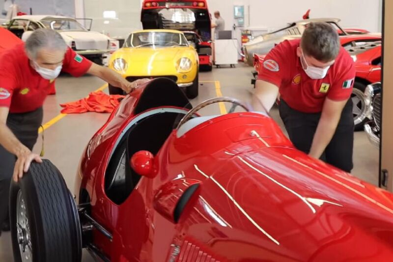 Ferrari porterà a Silverstone la 375 F1 che ha vinto il primo Gran Premio di Formula 1