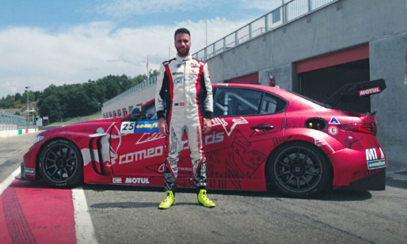 Philipp Eng sostituisce Stefano Coletti alla Romeo Ferraris