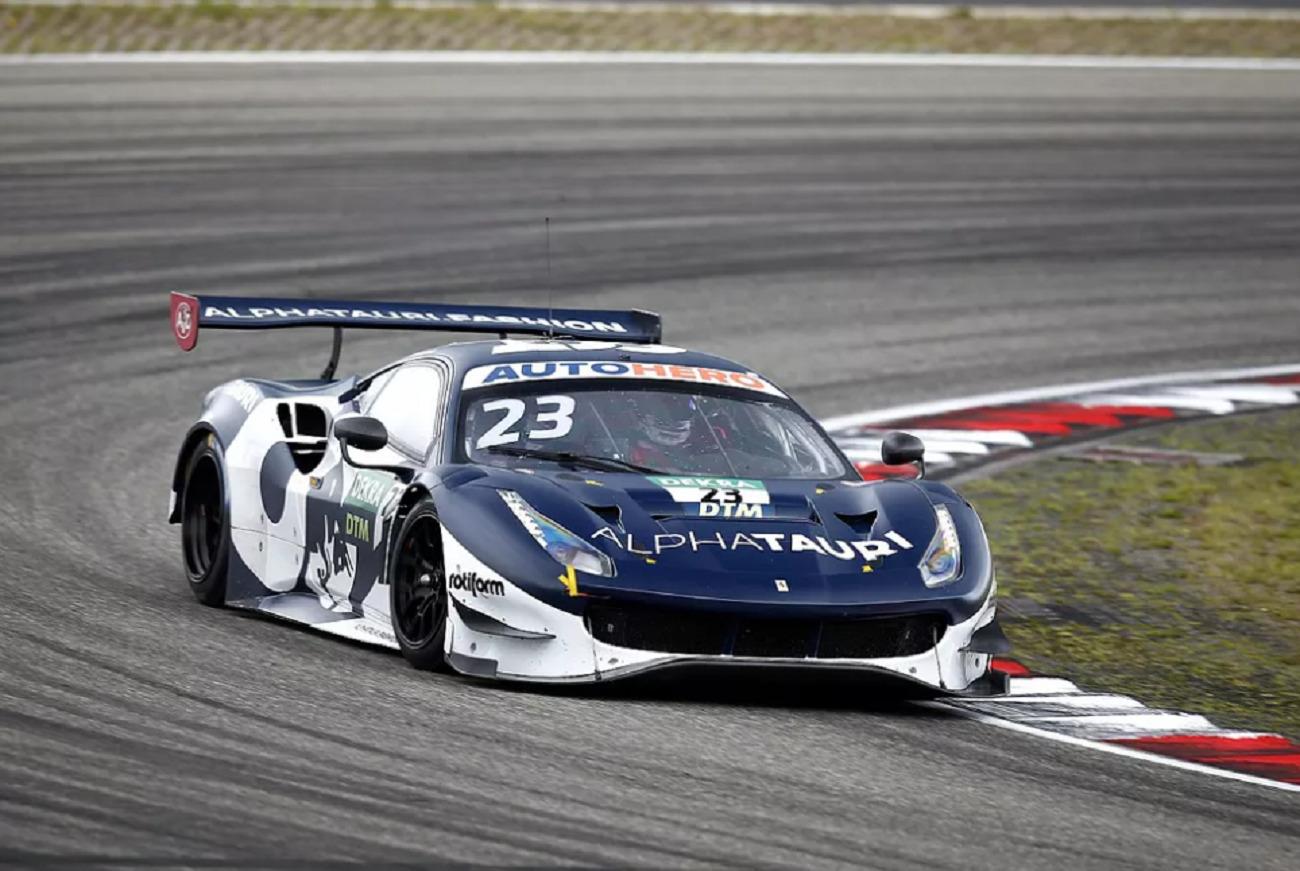 DTM: Albon vince gara 2 al Nurburgring con la Ferrari 488 di Alphatauri