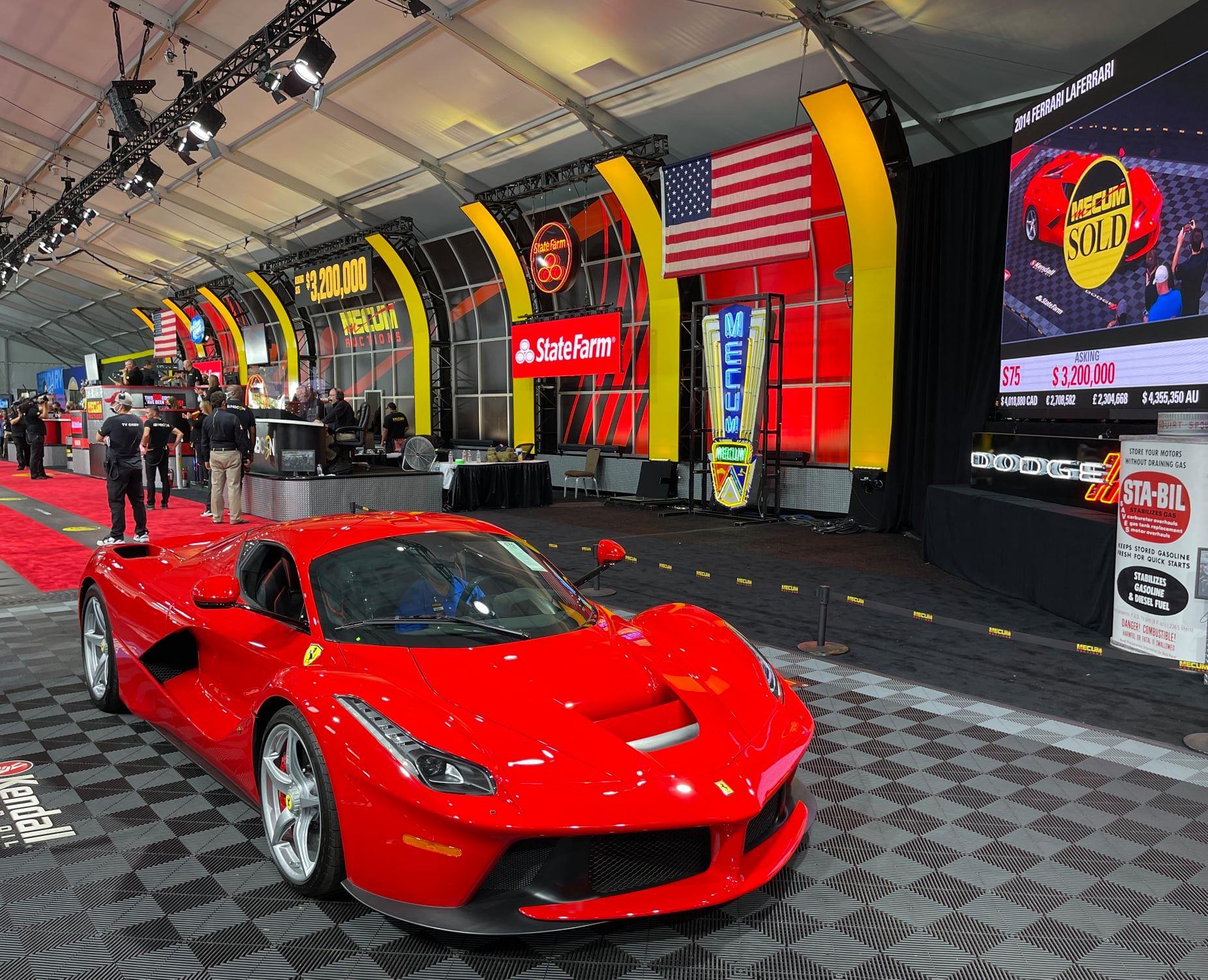 Questa Ferrari LaFerrari è stata venduta a 3 milioni di dollari
