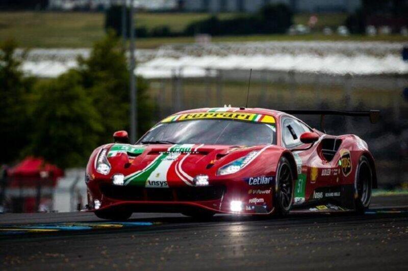 Ferrari domina la 24 Ore di Le Mans nelle categorie GTE Pro e GTE AM