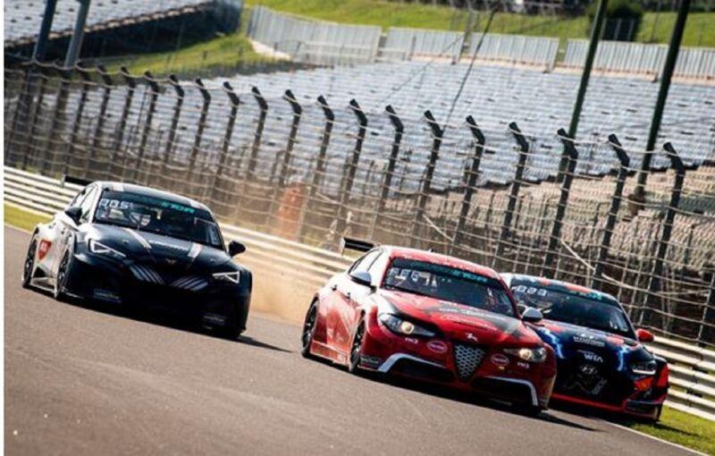 La Giulia ETCR di Romeo Ferraris conquista il podio per la terza volta di fila in Ungheria