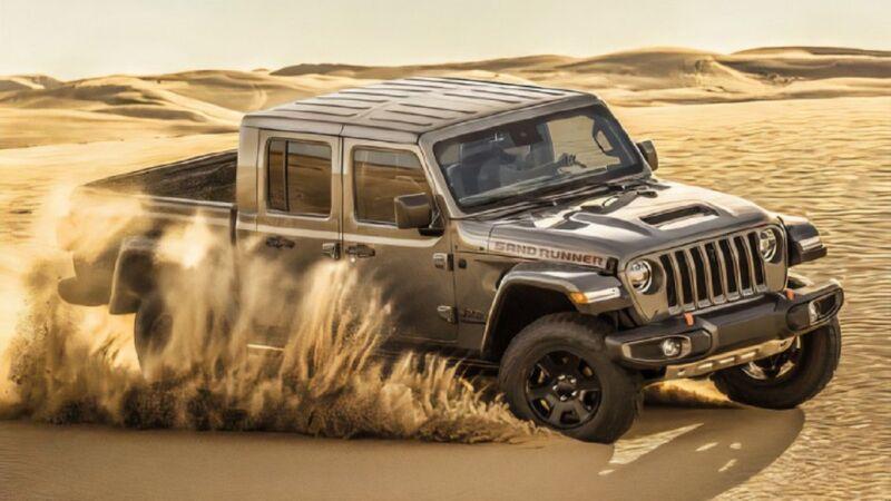 Jeep: arriva il nuovo Gladiator Sand Runner