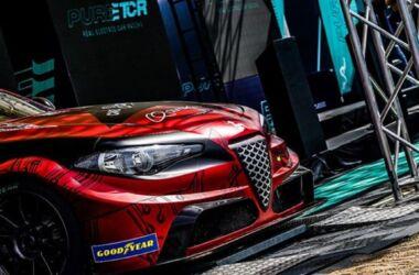 Romeo Ferraris pronta con la Giulia ETCR per il weekend in Ungheria per il Pure ETCR