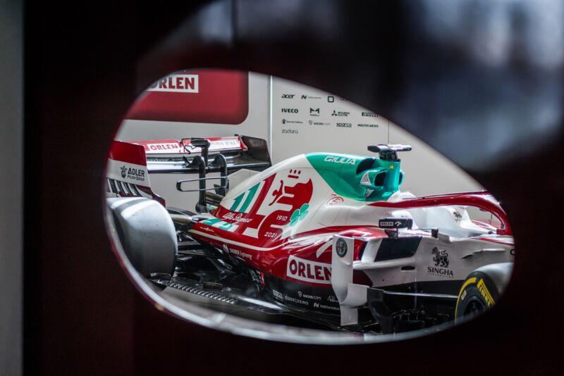 Alfa Romeo Racing correrà a Monza con una livrea speciale