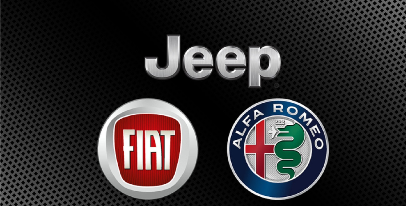 Alfa Romeo, Fiat e Jeep