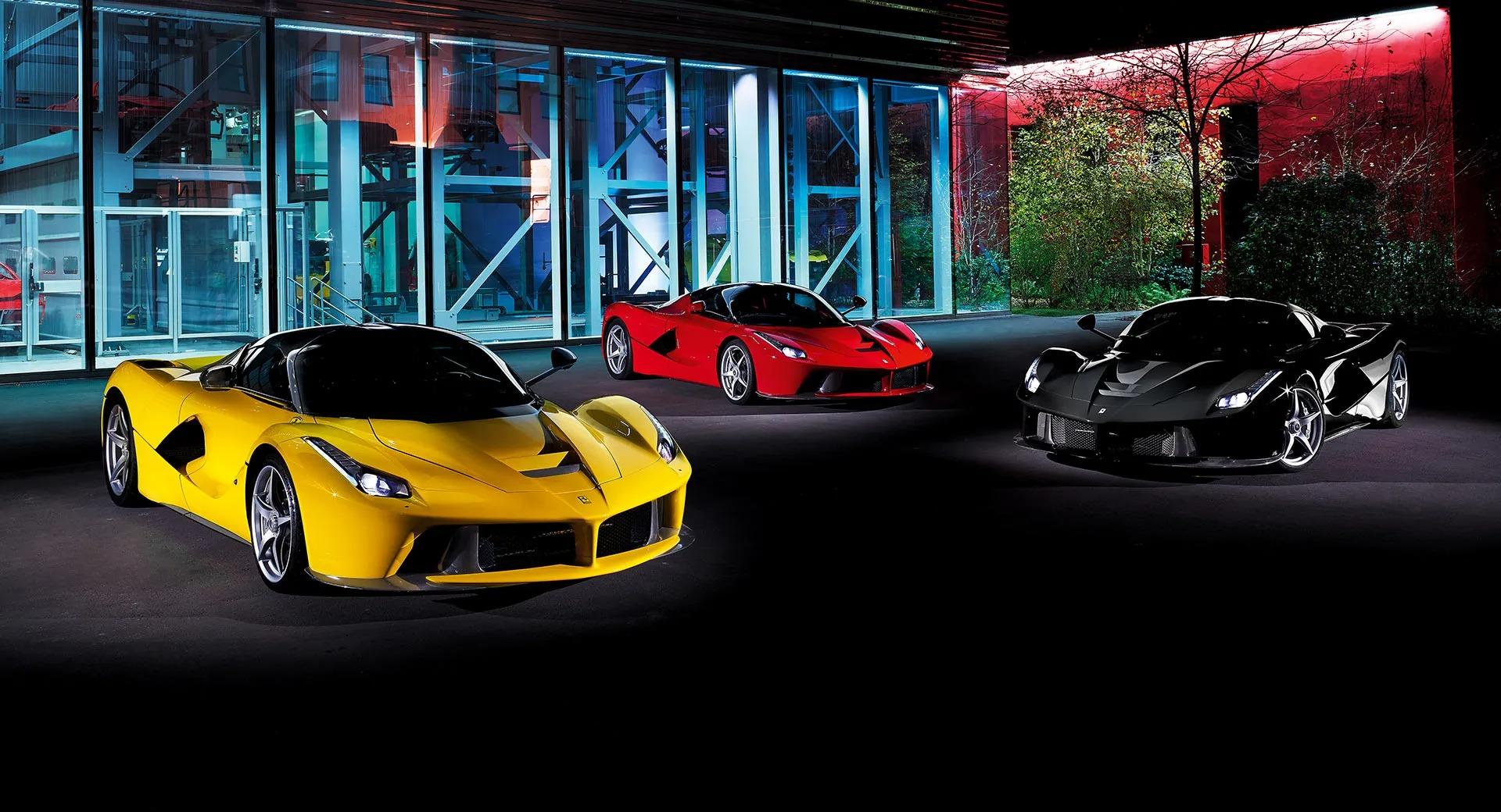 Ferrari LaFerrari Power