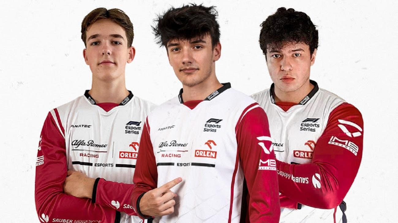 Alfa Romeo Racing: il team di E-Sport avvia una partnership con IMB Racewear