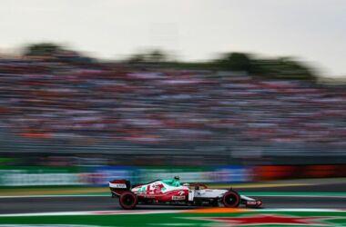 GP Italia: il venerdì dell'Alfa Romeo Racing