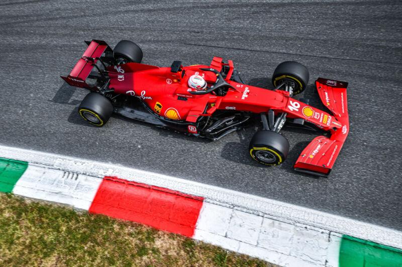 GP Italia: il venerdì della Ferrari