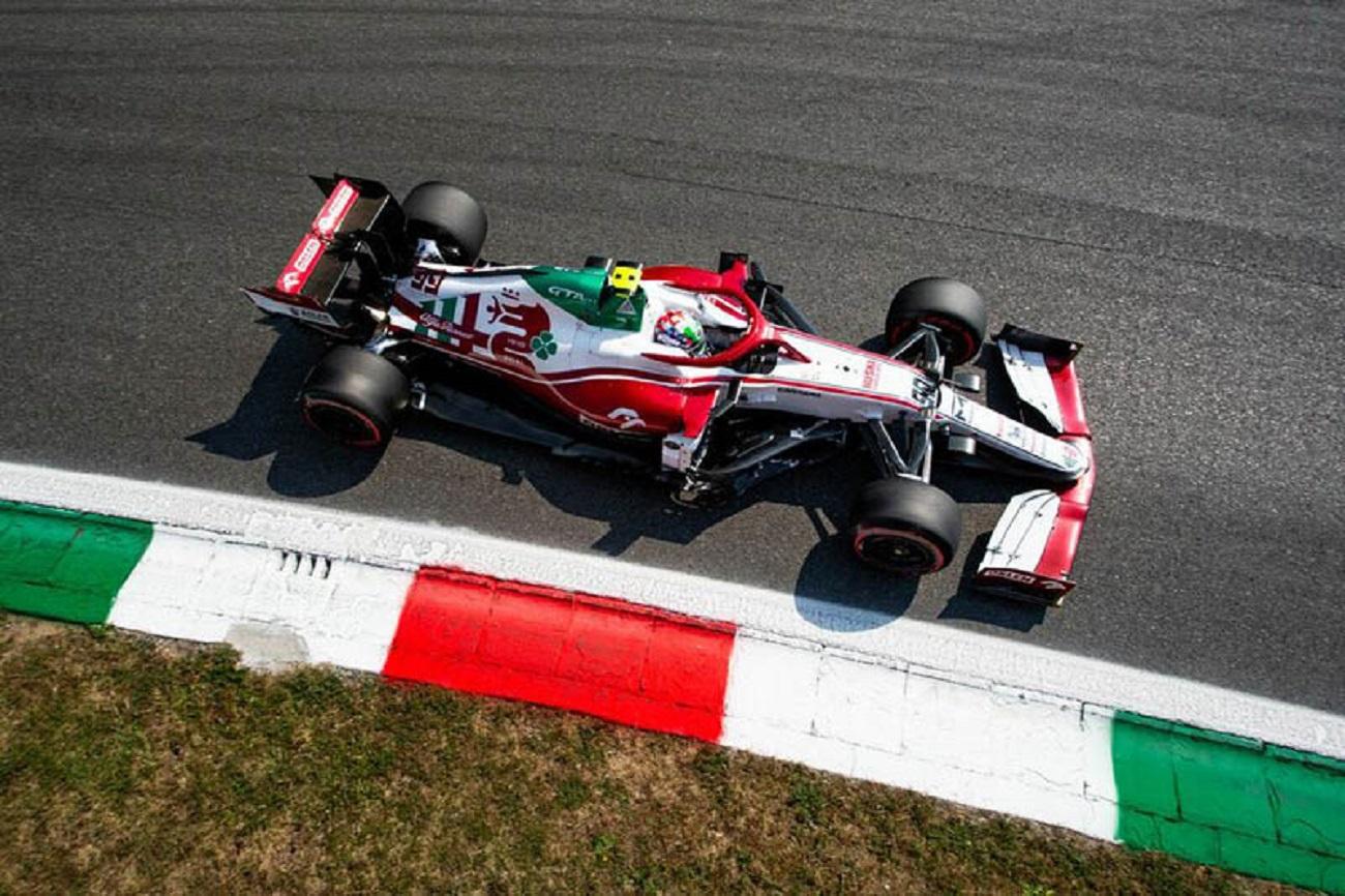 GP Italia: il sabato dell'Alfa Romeo Racing