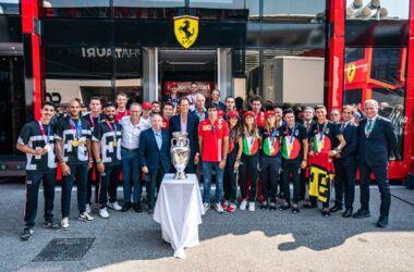 GP Italia: la gara della Ferrari