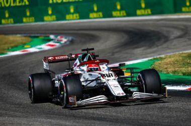 GP Italia: la gara dell'Alfa Romeo Racing