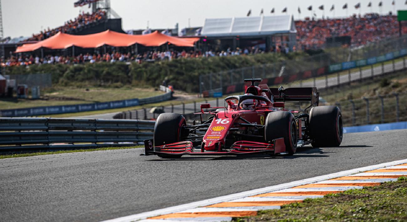 GP Olanda: la gara della Ferrari