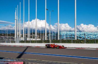 GP Russia 2021: il venerdì della Ferrari