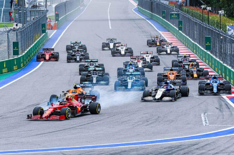 GP Russia: la gara della Ferrari