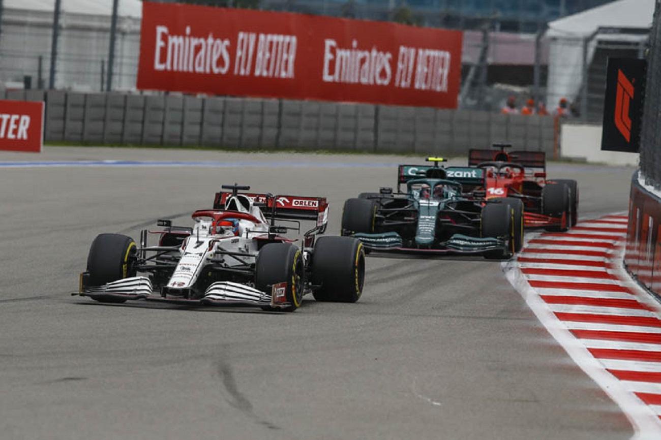 GP Russia: la gara dell'Alfa Romeo Racing