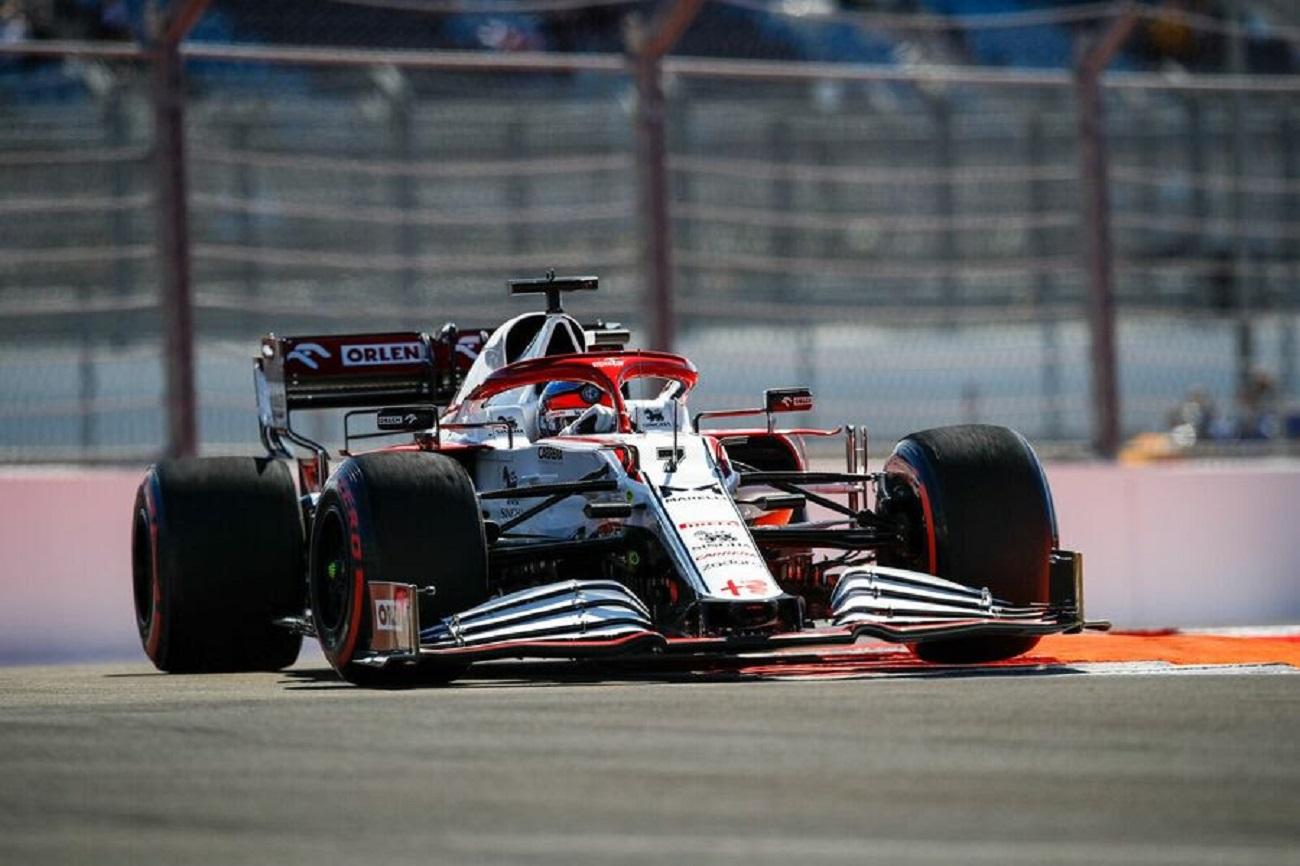 GP Russia 2021. il venerdì dell'Alfa Romeo Racing
