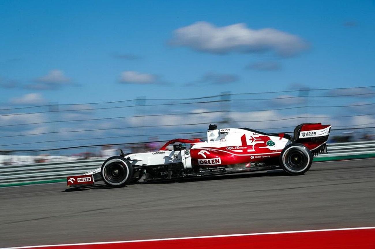 GP Stati Uniti: la gara dell'Alfa Romeo