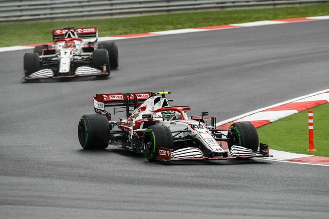 GP Turchia: la gara dell'Alfa Romeo Racing