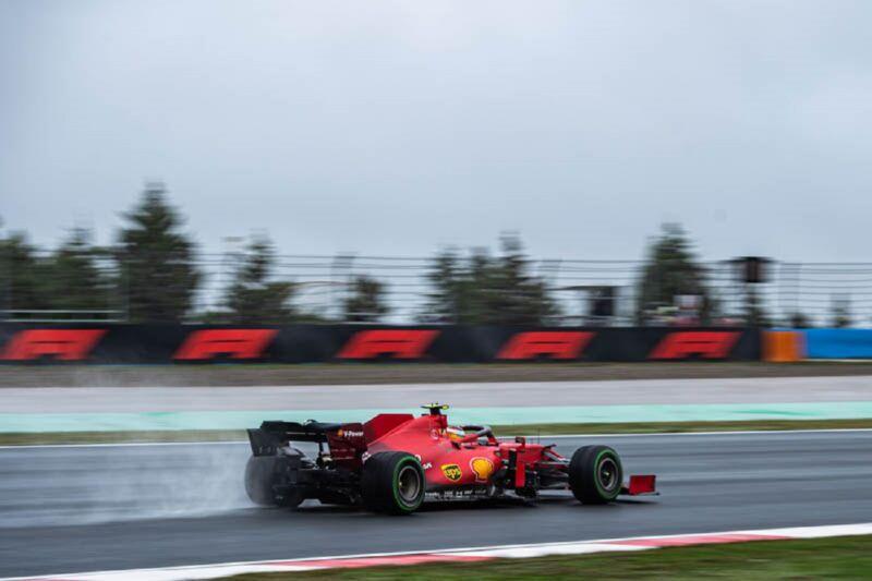 GP Turchia: la gara della Ferrari